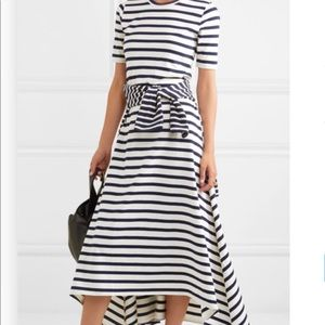 Jcrew blue white maxi